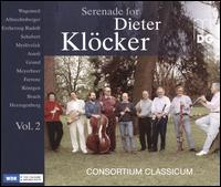 Serenade for Dieter Klöcker, Vol. 2 - Alwin Bauer (cello); Christian Hartmann (oboe); Christoph Möhle (double bass); Dieter Klöcker (clarinet);...