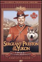 Sergeant Preston of the Yukon: Season 01