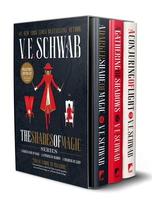 Shades of Magic Collector's Editions Boxed Set: A Darker Shade of Magic, a Gathering of Shadows, and a Conjuring of Light - Schwab, V E