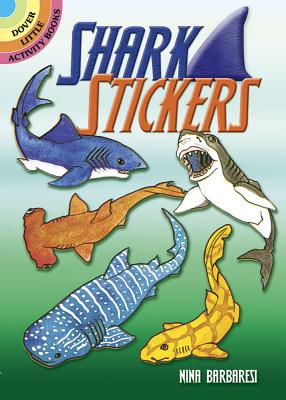 Shark Stickers - Barbaresi, Nina, and Stickers, and Sea Life