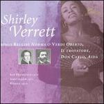 Shirley Verrett Sings Bellini & Verdi