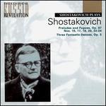 Shostakovich: Fantastic Dances Op5; Prelude & Fugue in Dm No24, Op87/24