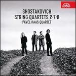 Shostakovich: String Quartets 2, 7, 8