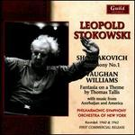 Shostakovich: Symphony No. 1; Vaughan Williams: Fantasia on a Theme by Thomas Tallis