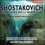 "Shostakovich: Symphony No.13 ""Babiy Yar"""