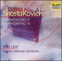 Shostakovich: Symphony No. 5; Symphony No. 9 - Atlanta Symphony Orchestra; Yoel Levi (conductor)