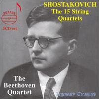 Shostakovich: The 15 String Quartets - Beethoven Quartet
