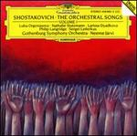 Shostakovich: The Orchestral Songs, Vol. 1
