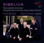 Sibelius: Piano Quintet in G minor; String Quartet in D minor, Op. 56