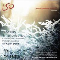 Sibelius: Symphonies Nos. 1-7: Kullervo; The Oceanides; Pohjola's Daughter - Monica Groop (mezzo-soprano); Peter Mattei (baritone); London Symphony Chorus (choir, chorus); London Symphony Orchestra;...