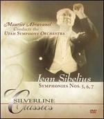 Sibelius: Symphonies Nos. 5, 6, 7 [DVD Audio]