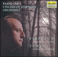 Sibelius: Symphony No. 2; Tubin: Symphony No. 5 - Cincinnati Symphony Orchestra; Paavo Järvi (conductor)