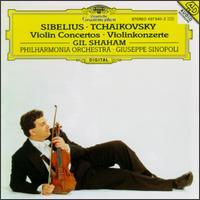 Sibelius, Tchaikovsky: Violinkonzerte - Gil Shaham (violin); Philharmonia Orchestra; Giuseppe Sinopoli (conductor)