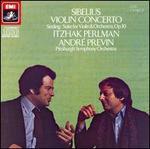 Sibelius: Violin Concerto; Sinding: Suite for Violin & Orchestra