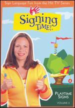 Signing Time!, Vol. 2: Playtime Signs