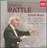 Simon Rattle: British Music - Birmingham Contemporary Music Group; Janet Baker (mezzo-soprano); John Mitchinson (tenor);...