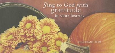 Sing to God Thanksgiving Offering Envelope 2015 (Pkg of 50) - Abingdon Press