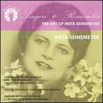 Singers to Remember: Meta Seinemeyer
