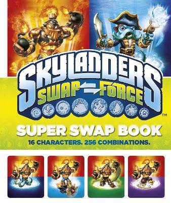 Skylanders Swap Force: Super Swap Book -