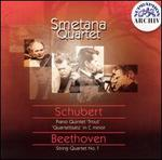 Smetana Quartet plays Schubert & Beethoven