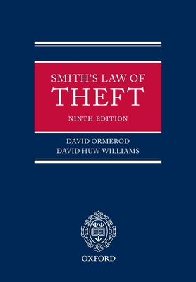 Smith: The Law of Theft - Ormerod, David