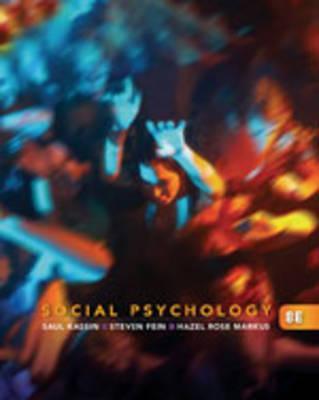 9780495812401 Social Psychology Saul Kassin