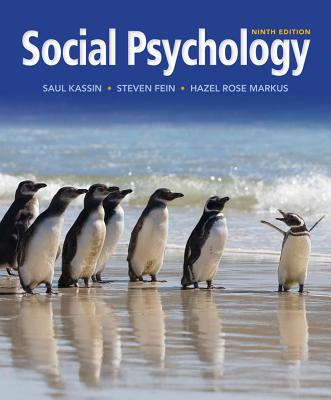 Social psychology book by saul kassin 11 available editions social psychology kassin saul m and fein steven and markus fandeluxe Images
