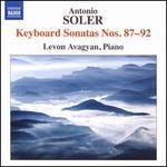 Soler: Keyboard Sonatas Nos. 87-92