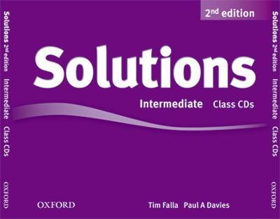Solutions: Intermediate: Class Audio CDs (3 Discs) -