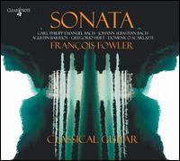 Sonata - Fran�ois Fowler (guitar)