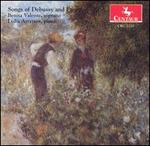Songs of Debussy and Fauré