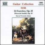 Sor: 24 Exercises, Op. 35; Pièces de Société, Op. 33