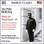 Sousa: Music for Wind Band, Vol. 15