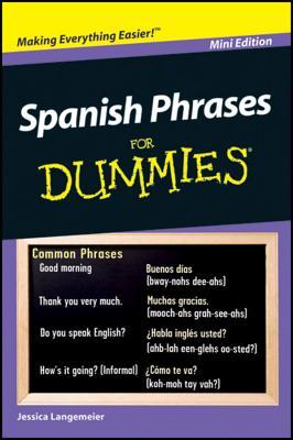 Spanish Phrases for Dummies - Langemeier, Jessica