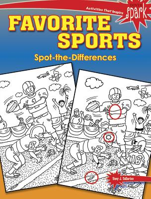 Spark Favorite Sports Spot-The-Differences - Tallarico, Tony J