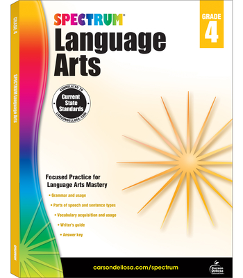 Spectrum Language Arts, Grade 4 - Spectrum (Compiled by)