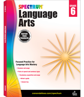 Spectrum Language Arts, Grade 6 - Spectrum (Compiled by)