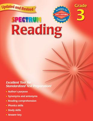Spectrum Reading, Grade 3 - Spectrum (Creator)