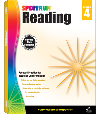 Spectrum Reading Workbook, Grade 4 - Spectrum (Compiled by)