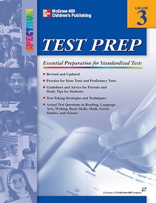 Spectrum Test Prep, Grade 3 - Douglas, Vincent, and School Specialty Publishing, and Carson-Dellosa Publishing