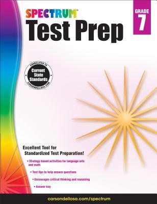 Spectrum Test Prep, Grade 7 - Spectrum (Compiled by)