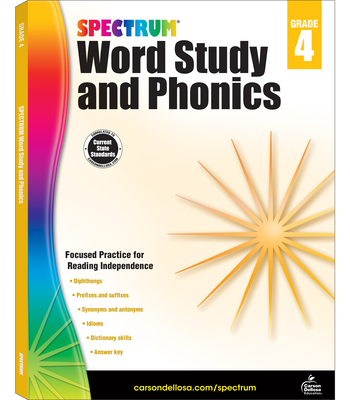 Spectrum Word Study and Phonics, Grade 4 - Spectrum (Compiled by)