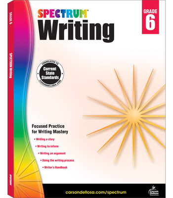 Spectrum Writing, Grade 6 - Spectrum (Compiled by)