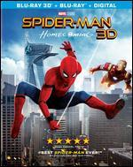 Spider-Man: Homecoming [3D] [Includes Digital Copy] [Blu-ray]