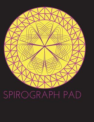 Spirograph Design Pad/Notebook/Journal: Blank Spirograph Art Series/Kids Art - Books, Exodus
