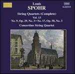 Spohr: Complete String Quartets, Vol. 13