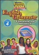 Standard Deviants School: English Grammar, Program 4