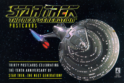 Star Trek Postcards - Star, Trek, and Star Trek, and Pocket Books (Creator)