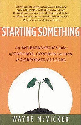 Starting Something - McVicker, Wayne