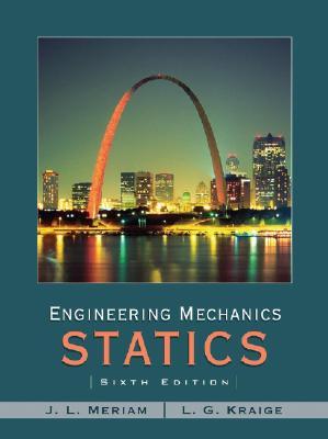 Statics - Meriam, J. L.